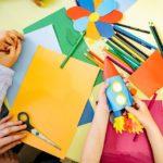 Kolorowe przybory dla przedszkolaka